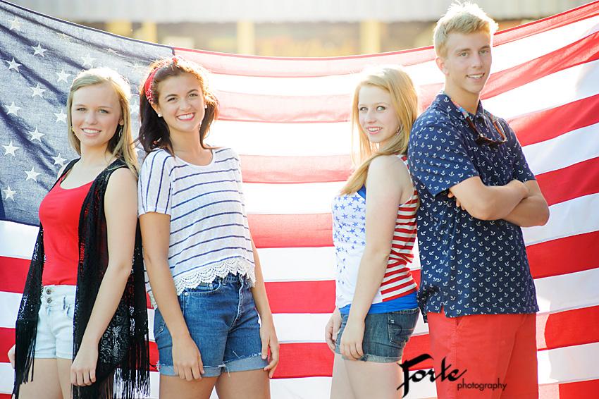 Senior Group Photo Shoot