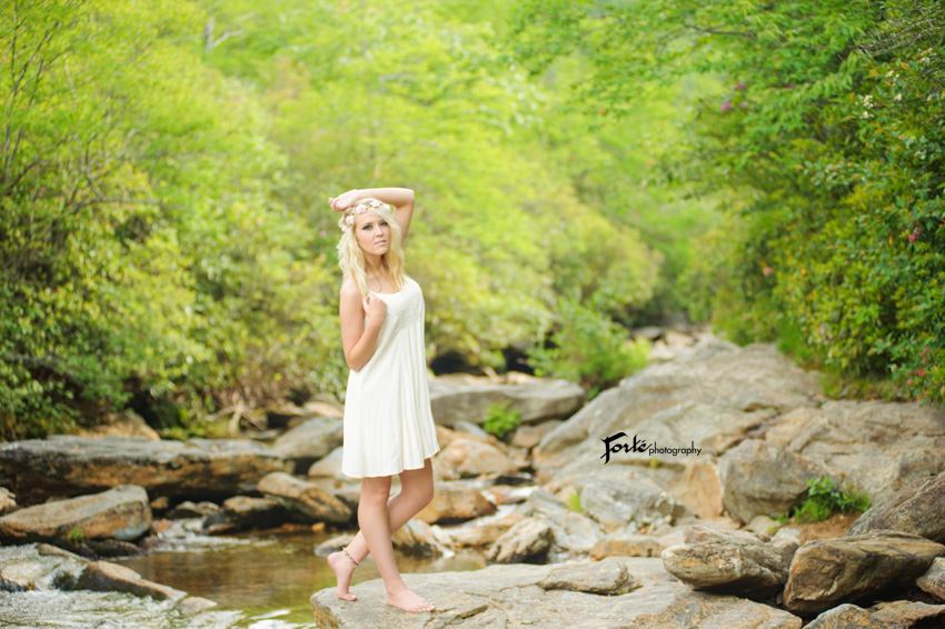 Asheville Senior Photo Grave Yard Fields