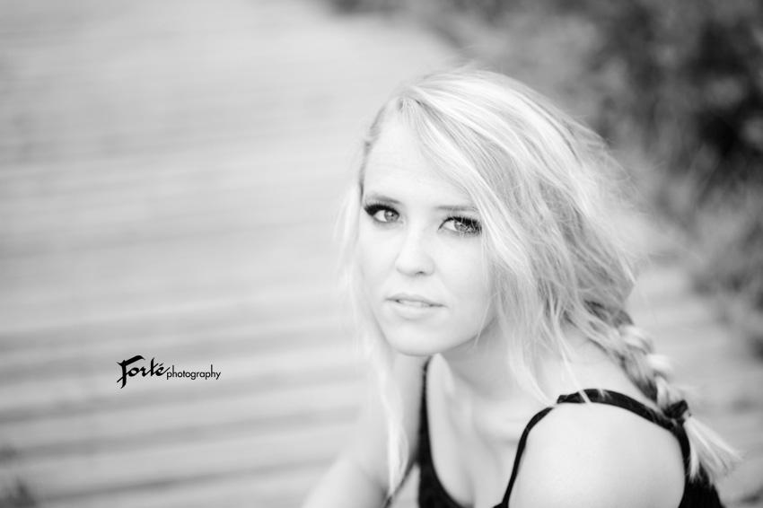 Senior Photo Asheville B/W