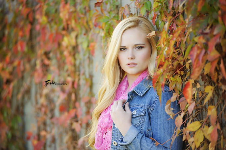 Faith Senior Pictures Asheville