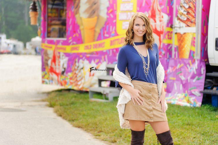 Senior Portraits Asheville Fair