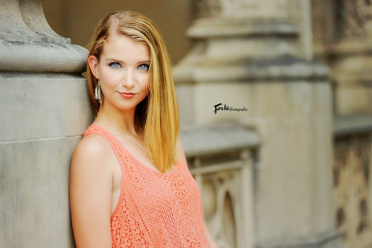 Biltmore Estate Senior Portraits Ashveille