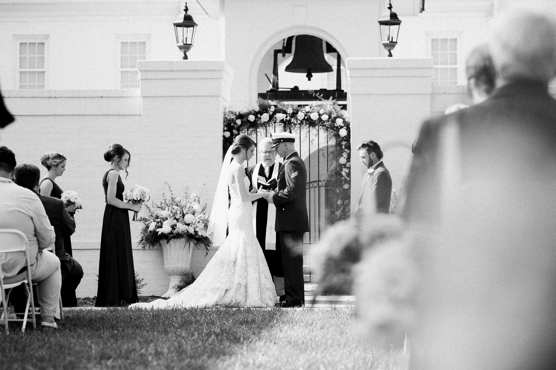 Outdoor Wedding Blue Ridge